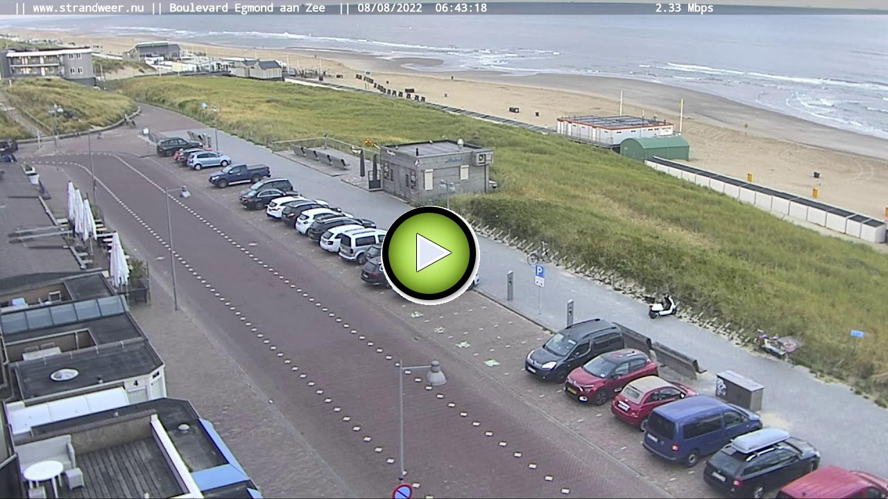 Webcam Golfzang - Egmond aan Zee